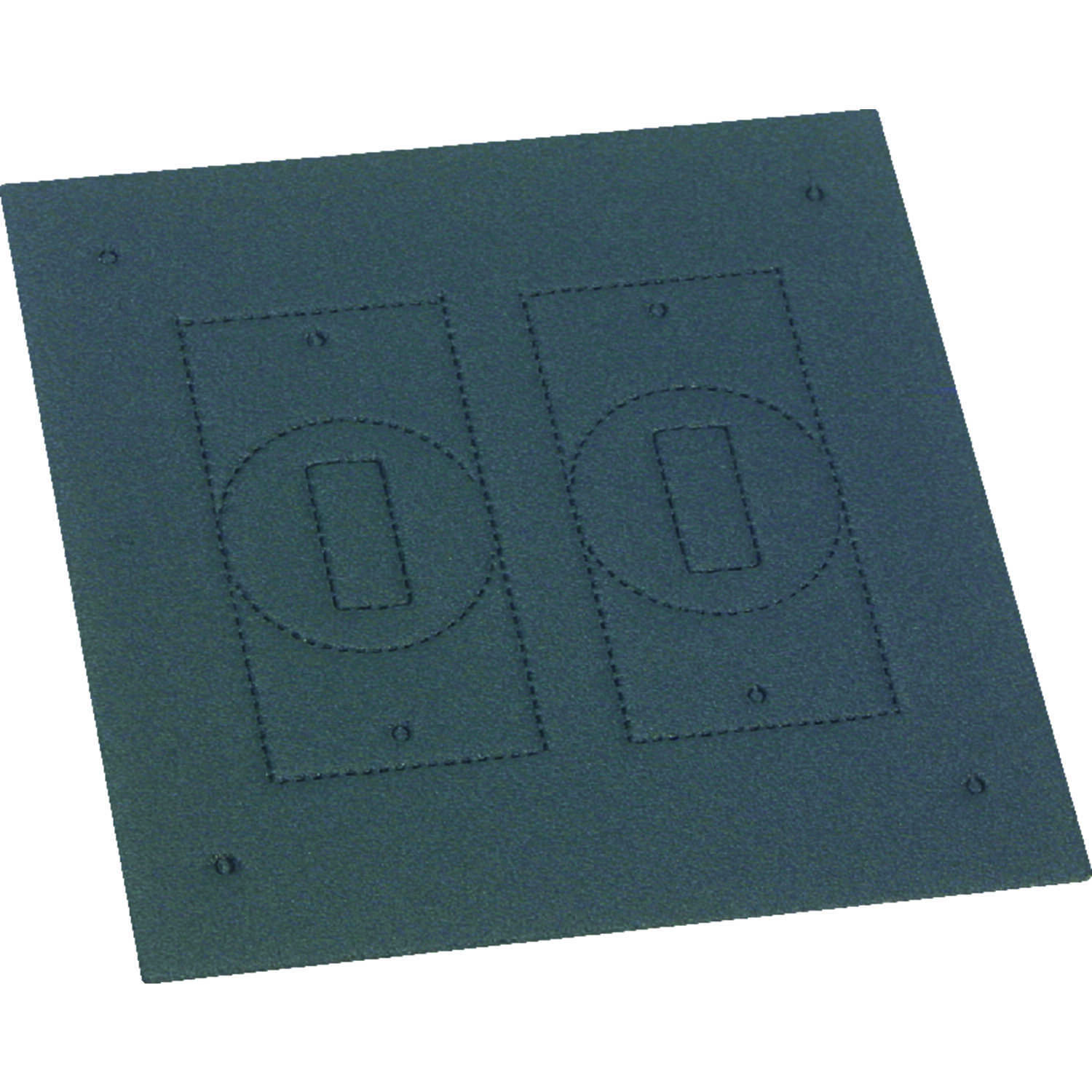 Sigma Electric  Square  2 gang Replacement Gasket  Crosslinked Foam