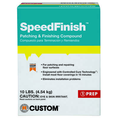 Custom Building Products  SpeedFinish  Gray  Patching and Repair