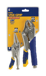 Irwin  Vise-Grip  6 & 10 in. Alloy Steel  Locking Pliers Set