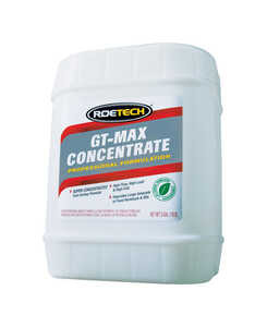 Roetech  GT-Max Concentrate  Liquid  Drain Cleaner  5 gal.