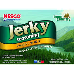 Nesco American Harvest  Open Country  Jerky Seasoning/Cure Mix