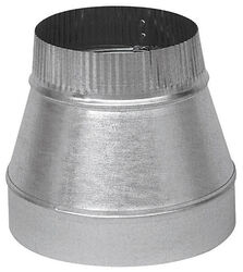 Imperial  5 in. Dia. x 3 in. Dia. Galvanized Steel  Furnace Pipe Reducer