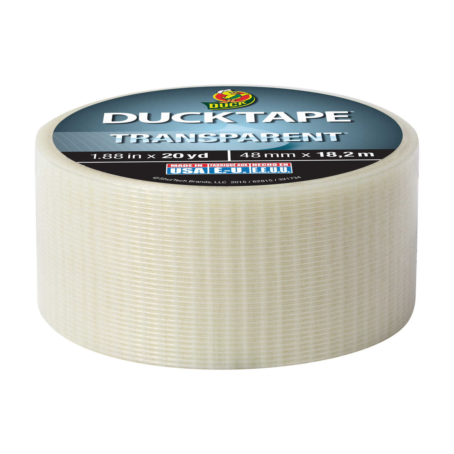 Duck 1 88 In W X 20 Yd L Clear Duct Tape Ace Hardware