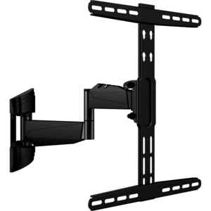 Home Plus  32 in. 50 in. 55 lb. Tiltable Articulating Wall Arm TV Mount