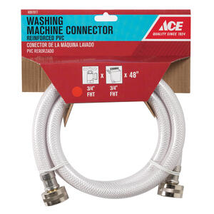 Ace Hardware  3/4 in. FHT   x 3/4 in. Dia. FHT  48 in. PVC  Supply Line