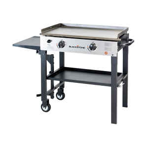Blackstone  28 in.  2 burners Propane  Grill  Black  17000 BTU