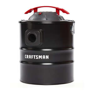 Craftsman  5 gal. Corded  Ash Vacuum  3 hp 7.6 amps 120 volt Black  1 pc. 13 lb.