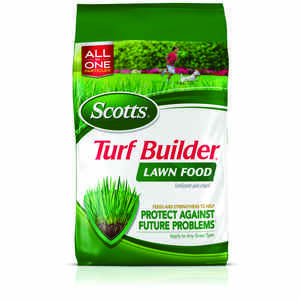 Scotts  Turf Builder  32-0-4  Lawn Food  For All Grass Types 12.5