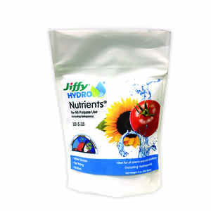 Jiffy  Hydro  Plant Nutrients  9 oz.