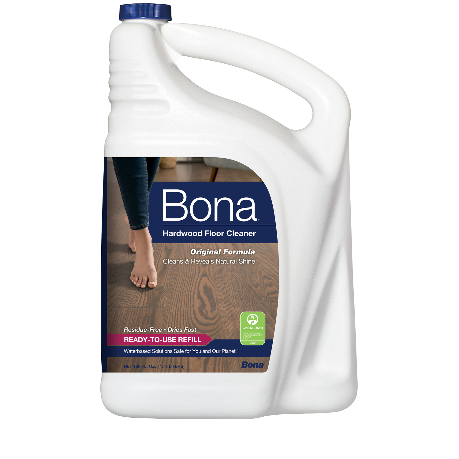 Attirant Bona No Scent Floor Cleaner Refill 160 Oz. Liquid