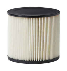 Craftsman  8 in. L x 7 in. W Wet/Dry Vac Cartridge Filter  5 gal. White  1 pc.