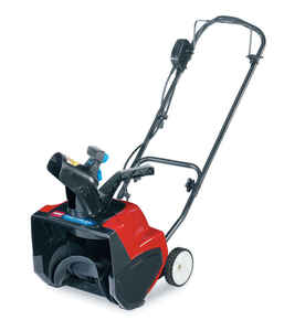 Toro  Power Curve  15 in. W Electric Start  Snow Blower