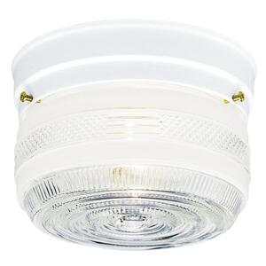 Westinghouse  4-1/2 in. H x 6-3/4 in. W x 6.75 in. L Ceiling Light