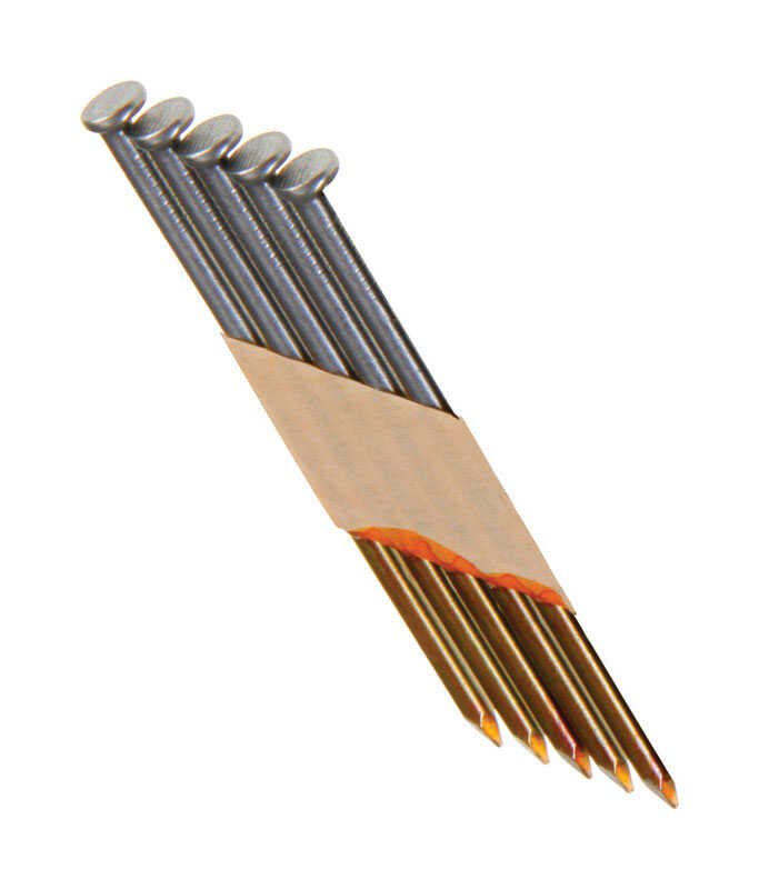 Grip-Rite  2-3/8 in. 11-1/2 Ga. Angled Strip  Framing Nails  30 deg. Smooth Shank  1 pk