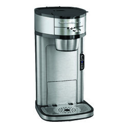 Hamilton Beach 14 cup Silver Coffee Maker