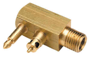 Seachoice  Male Fuel Connector  1  Brass