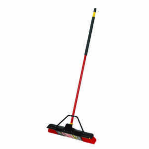 Quickie  Bulldozer  Push Broom  60 in. Synthetic