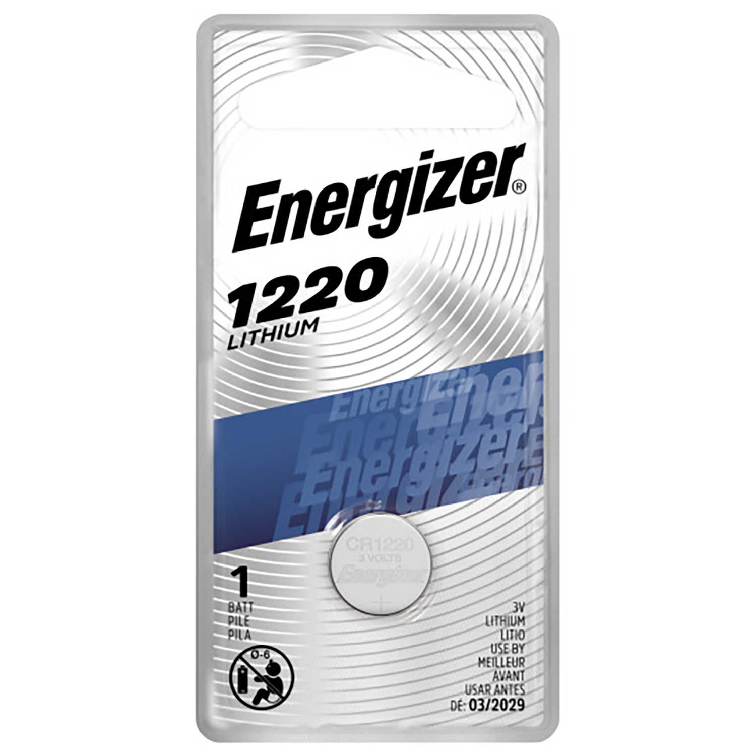 Energizer  Lithium  1220  3 volt Keyless Entry Battery  1 pk