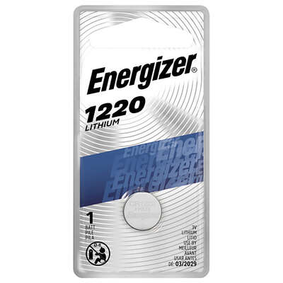 Energizer  Lithium  1220  3 volt Glucose/Heart Rate Monitor Battery  1 pk