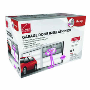 Owens Corning  Garage  22 in. W x 54 in. L R-8  Faced  Fiberglass  Garage Door Insulation Kit  Roll