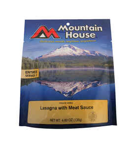 Mountain House  Lasagna  Freeze Dried Food  4.8 oz. Pouch
