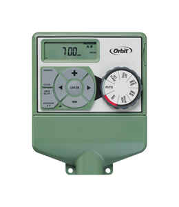 Orbit  Easy Dial  Programmable 4 zone Indoor Sprinkler Timer