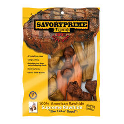 Savory Prime  Small  Adult  Knotted Bone  Assorted  1 pk