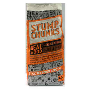Stump Chunks  Wood Fiber  Fire Starter  1.5 cu. ft.