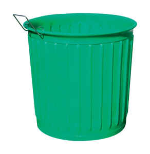 Chem-Tainer  Carry Barrel  60 gal. Polyethylene  Yard Waste Barrel