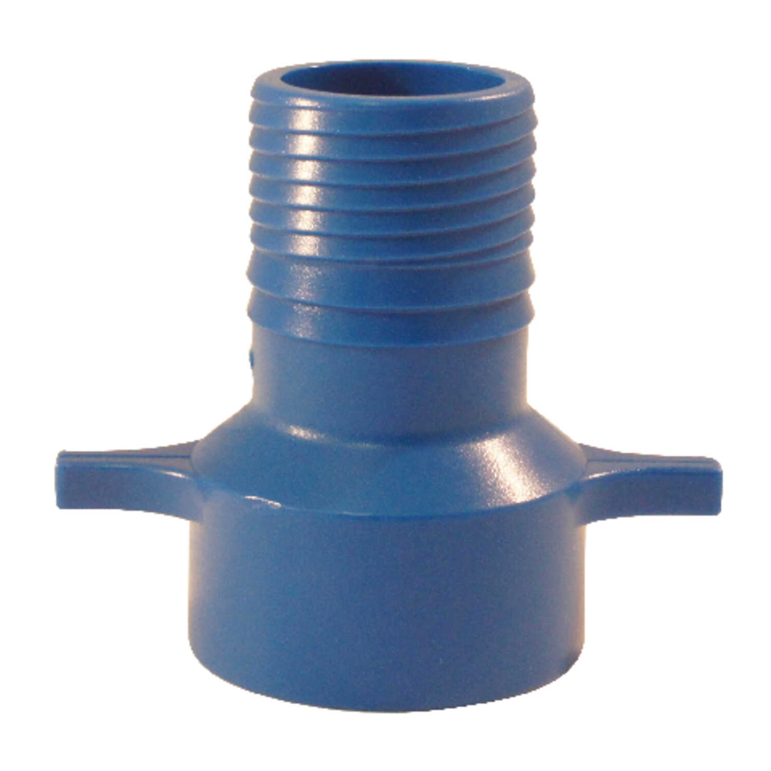Blue Twisters  1-1/4 in. Insert   x 1-1/4 in. Dia. FPT  Polypropylene  Female Adapter
