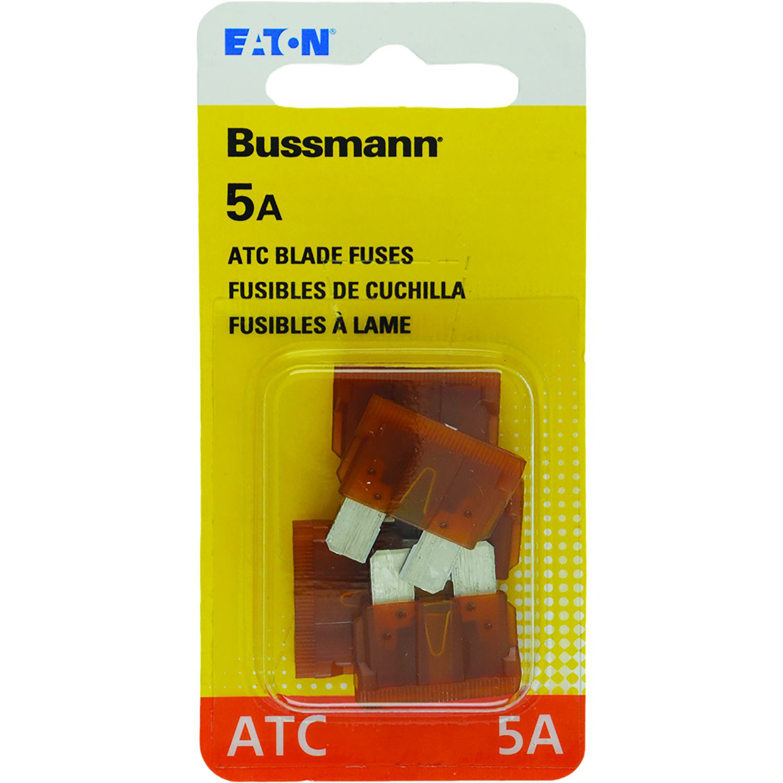 bussmann 5 amps atc blade fuse 5 pk ace hardware 98 Silverado Fuse Box Diagram