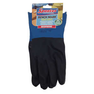 Spontex  Neoprene  Gloves  XL  1 pk Green