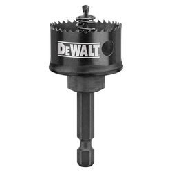 DeWalt Impact Ready 1-1/4 in. Dia. x 5/8 in. L Bi-Metal Impact Ready Hole Saw 1/4 in. 1 pc.
