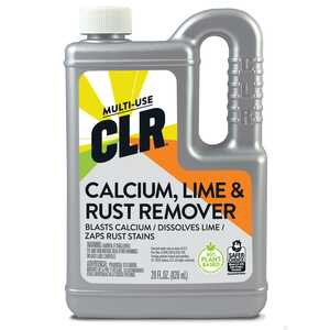 CLR  No Scent Calcium Rust and Lime Remover  28 ounce  Liquid