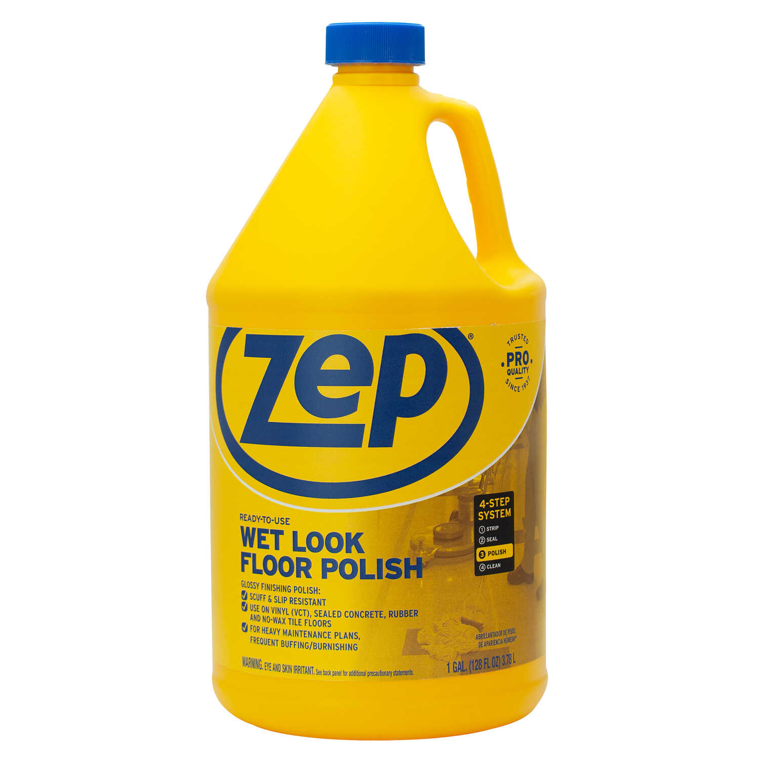 Zep  Professional Strength  High Gloss  High Traffic Floor Finish  Liquid  1 gal.