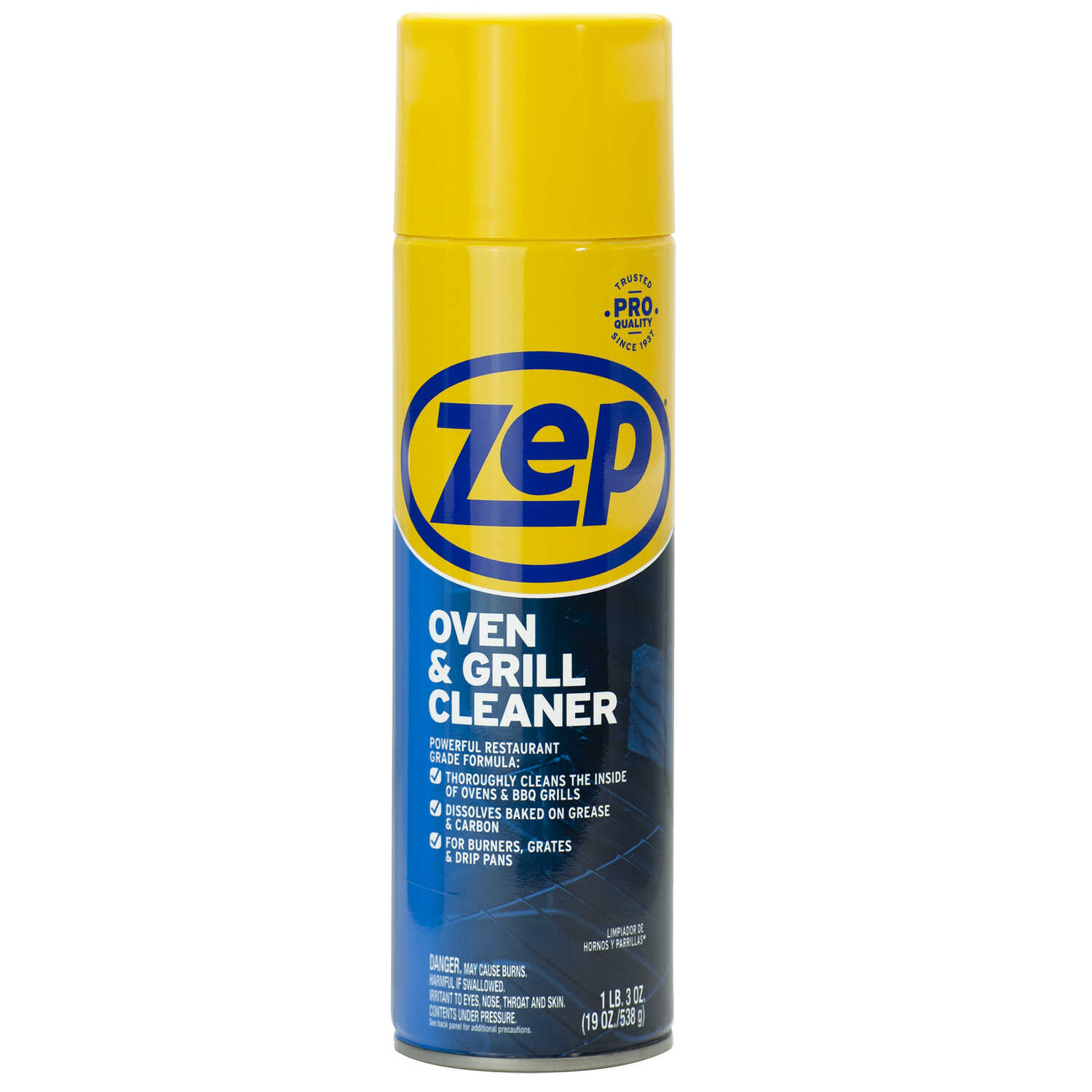 Zep  No Scent Oven And Grill Cleaner  19 oz. Foam