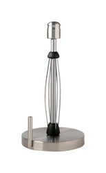 Kamenstein Stainless Steel Freestanding Paper Towel Holder 14 in. H x 7.17 in. W x 7.17 in. L