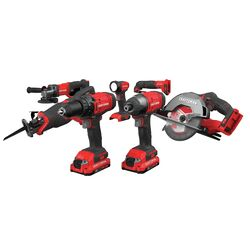 Craftsman V20 MAX 20 volt Cordless Brushed 7 tool Combo Kit