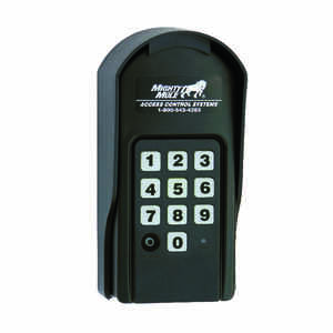Mighty Mule  0 volt Wireless DC Powered  Digital Key Pad