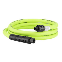 Flexzilla  6 ft. L x 3/8 in. Dia. Hybrid Polymer  Air Hose  300 psi Zilla Green