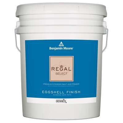 Benjamin Moore Regal Eggshell Base 1 Paint Interior 5 gal.