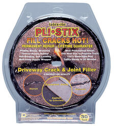Latex-Ite  Pli-Stix  Black  Asphalt  Asphalt  Crack Filler  2 lb.