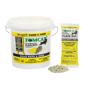 Motomco  Tomcat  Bait Station  Pellets  For Mice and Rats 4.1