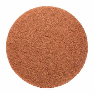 Gator  17 in. Dia. Non-Woven Natural/Polyester Fiber  Floor Pad Disc  Tan