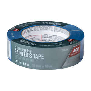 Ace  1.41 in. W x 60 yd. L Blue  Medium Strength  Painter's Tape  1 pk