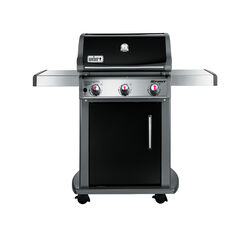 Weber  Spirit E-310  Natural Gas  Grill  Black  3 burners