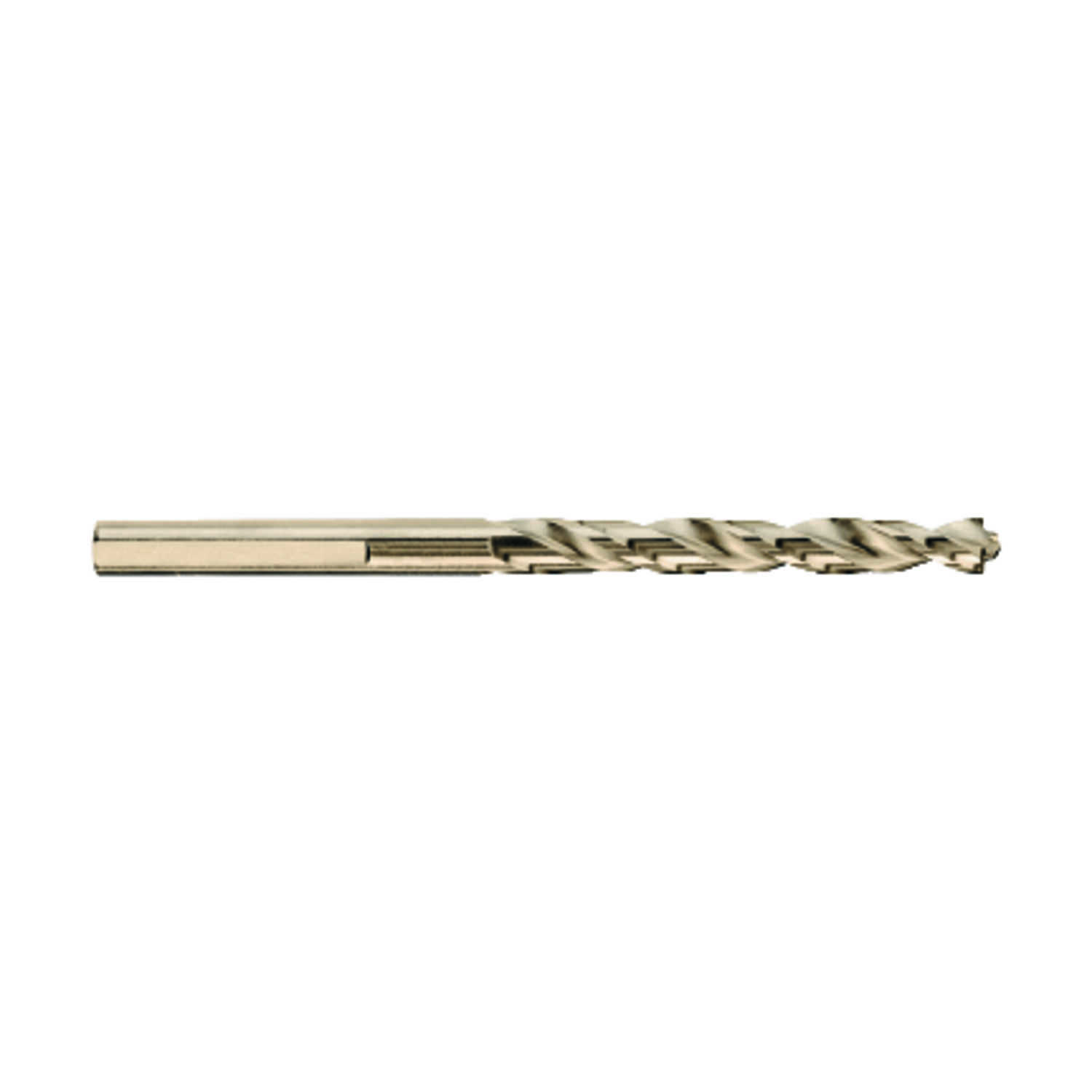 DeWalt  Pilot Point  9/64 in. Dia. x 2-7/8 in. L High Speed Steel  Split Point Drill Bit  3-Flat Sha