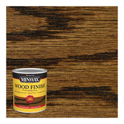 Minwax  Wood Finish  Semi-Transparent  Dark Walnut  Oil-Based  Stain  1 qt.