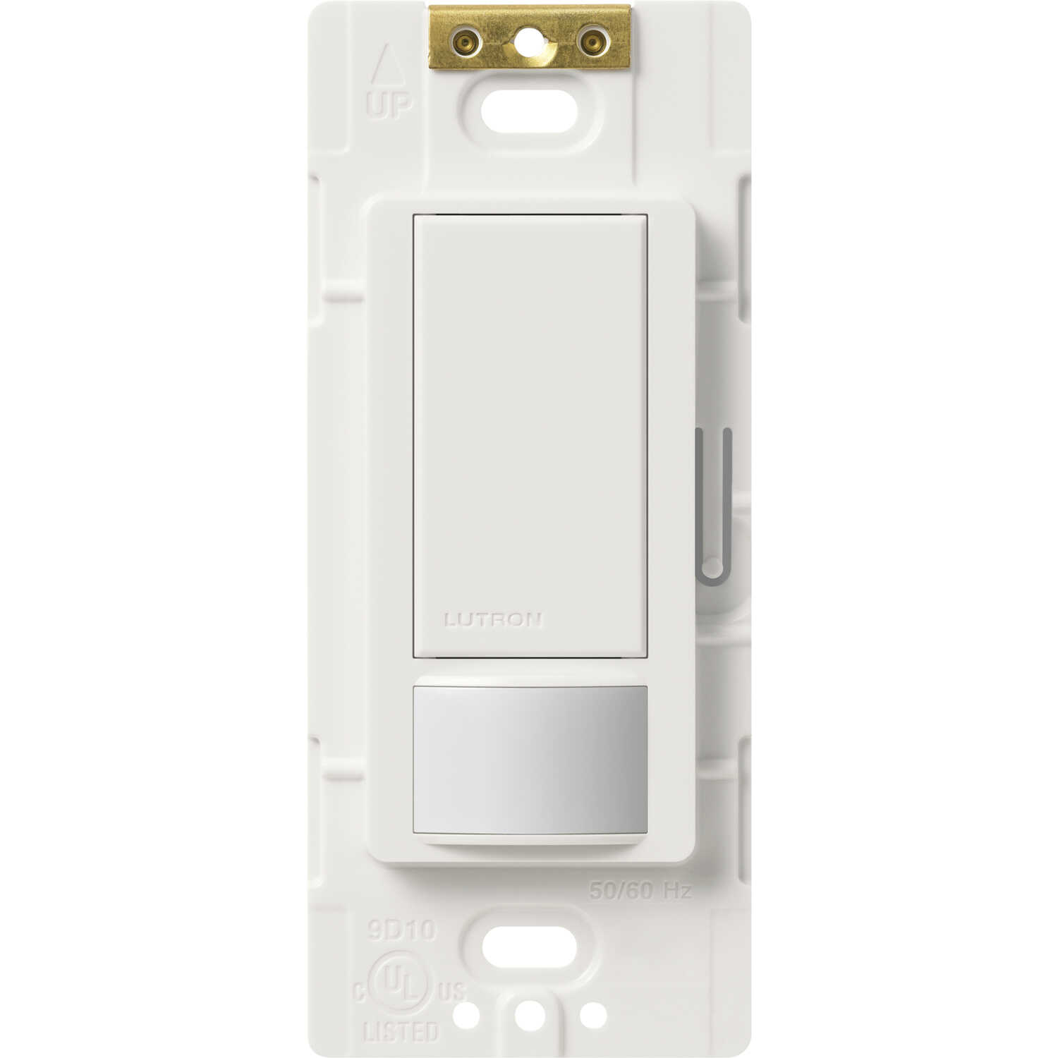 Lutron  Maestro Occupancy  Single pole  Motion Sensor  Triple Combination Switch  White  1 pk