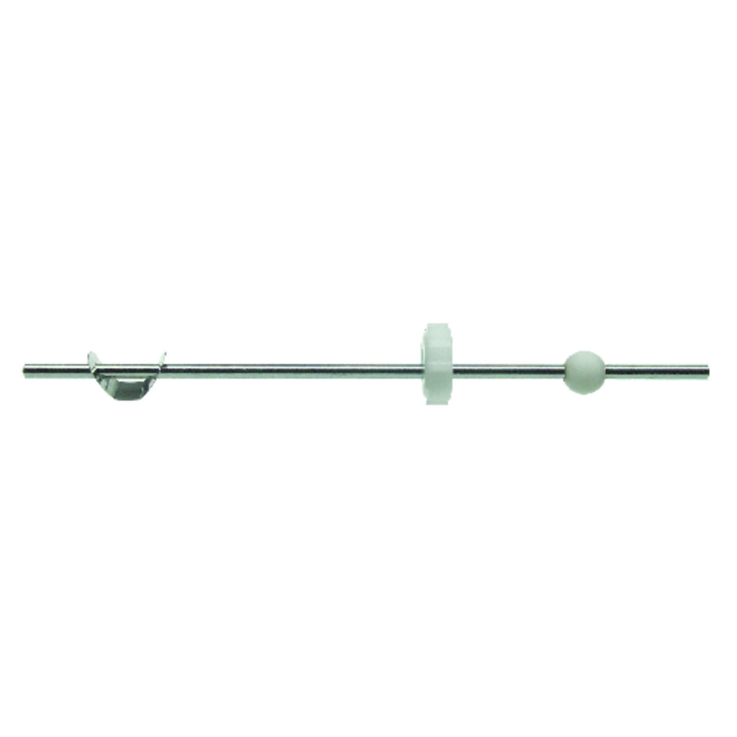 Ace  0.1875 in. Dia. Chrome  Brass  Pop-Up Ball Rod Assembly